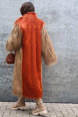 Kožuch Jety oranžový