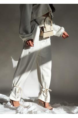 Nohavice Joe biele