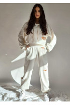 Nohavice Giano biele
