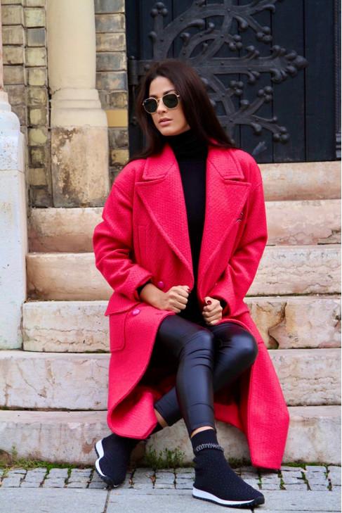 Kabát Nikita ružový
