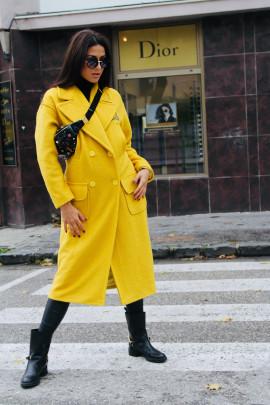 Kabát Nikita žltý
